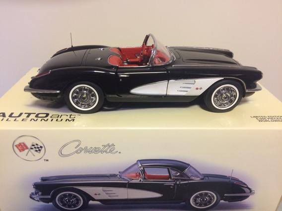 Corvette 1960 Autoart 1/18. N Gmp, Cmc, Ertl, Kyosho, Lane