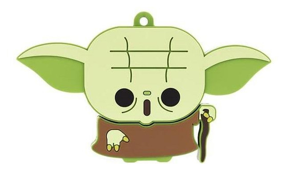 Pen Drive Pd037 Multilaser Star Wars Yoda 8gb Usb 2.0