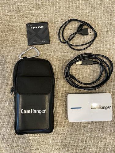 Camranger - Adaptador Wifi Para Canon E Nikon!
