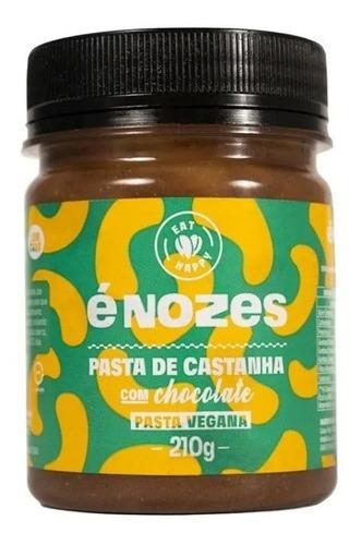 Imagem 1 de 3 de Pasta De Castanha Com Chocolate - É Nozes