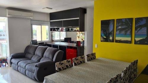Apartamento À Venda No Morumbi Com 67m², 2 Quartos Sendo 1 Suíte, Rua Elizabeth Barbegian Baldinato, 150 -  Hamornia Morumbi - Ap4997