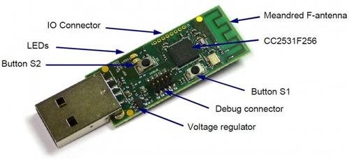 Cc2531 Placa P/ Rede Zigbee   Flash Zigbee2mqtt