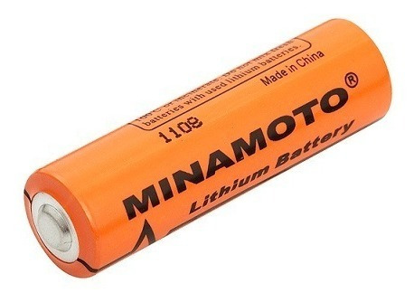 Bateria Er14505 Aa 3,6v 2400mah Lithium Minamoto 000564