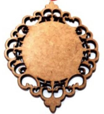 30 Mandala Lembracinha Divino Espirito Santo Artesanato 8cm