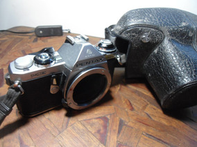 Máquina Fotográfica Pentax Asahi Me ( Travada )