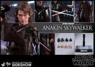 Hot Toys 1/6 Mms437 Anakin Skywalker Star Wars!
