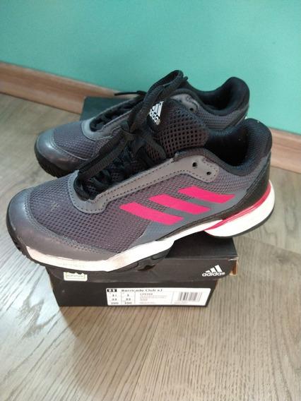 Zapatillas Nene adidas Tenis Junior Barricade Club Xj