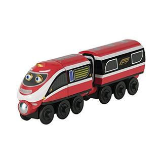 Tomy Chuggington Wooden Daley Y Delivery Wagon
