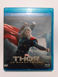 Thor - Un Mundo Oscuro Blu Ray + Dvd Nuevo