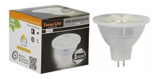 Foco Led Mr16 Gu5 3w Luz Blanca Intensa 250lm Mr16-smdled/3w