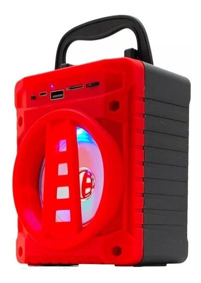 Caixa Caixinha Som Portátil Bluetooth Tf Sd Rádio Fm Usb Mp3