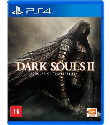 Jogo Novo Dark Souls 2 Ii Scholar Of The First Sin Para Ps4