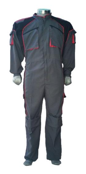Overol Tipo Piloto Ideal Para Mecánicos Industrial Trabajo