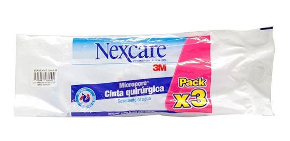 Nexcare Cinta Quirurjica Pack X3