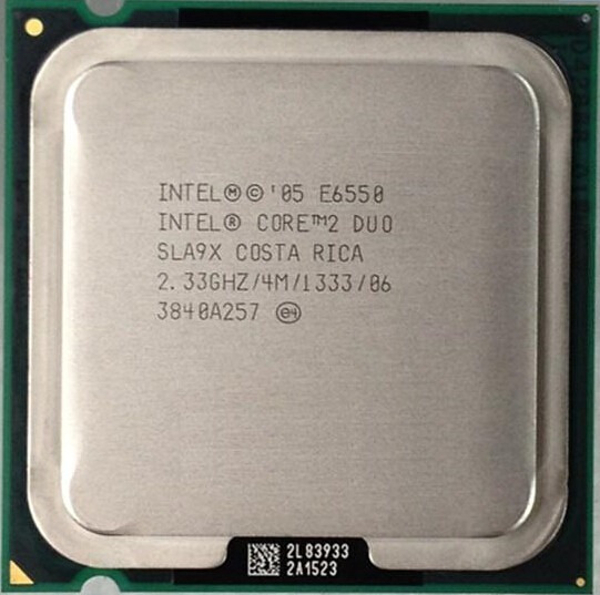 Processador Intel Core 2 Duo E6550 2.33 Ghz Lga775 Kit C/5