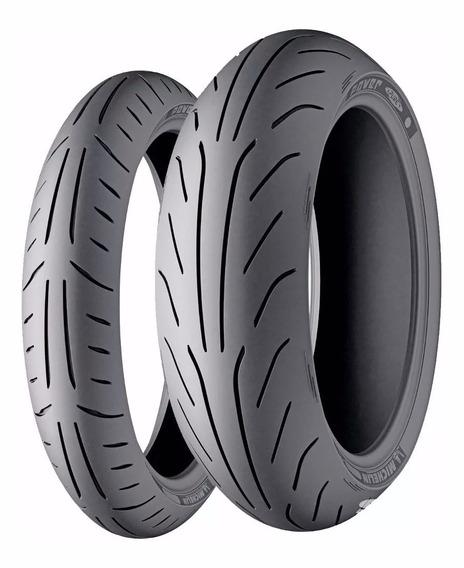 Par Pneu 130/60-13 E 150/70-13 Michelin Power Pure