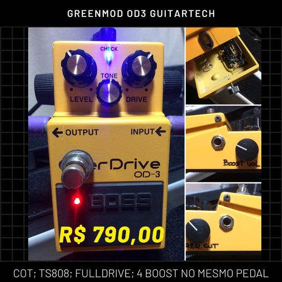 Pedal Guitartech Green Mod Od3