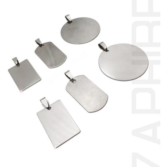 Pack X6 Dijes Para Grabar Acero Quirúrgico 316l Por Mayor