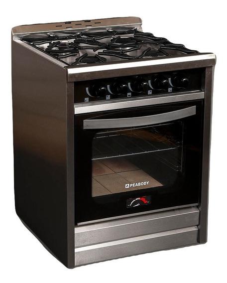 Cocina Industrial Peabody Pv600 60cm 4 H Puerta Vidrio