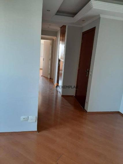 Apartamento Com 3 Dormitórios Para Alugar, 71 M² Por R$ 1.550,00/mês - Freguesia Do Ó - São Paulo/sp - Ap1490