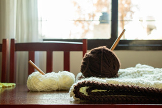 Pie De Cama Crochet Tejido A Mano 2 1/2 Plazas
