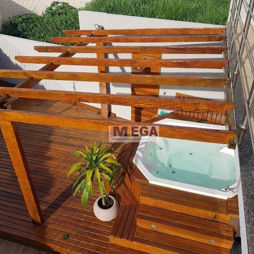Imagem 1 de 30 de Casa Com 3 Dormitórios À Venda, 192 M² Por R$ 1.098.000,00 - Santa Cruz - Valinhos/sp - Ca2057