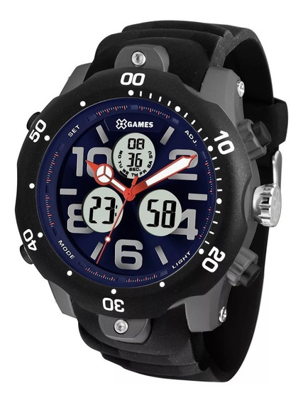 Relógio X-games Masculino Xmppa222 D2px C/ Garantia E Nf