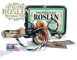 Kit Elétrica Sg Circuito P/ 3 Captadores, 3 Volumes E 1 Tone
