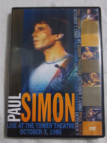 Dvd Paul Simon Live At The Tower Theatre October 7, 1980