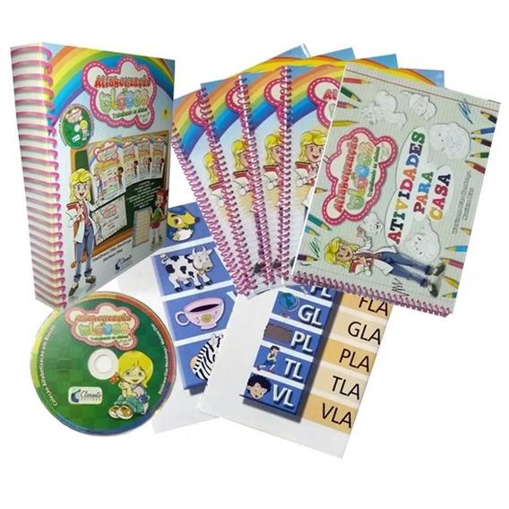 Coleção Alfabetização Em Blocos Do 1º Ao 3º Ano - 4 Vol. +cd