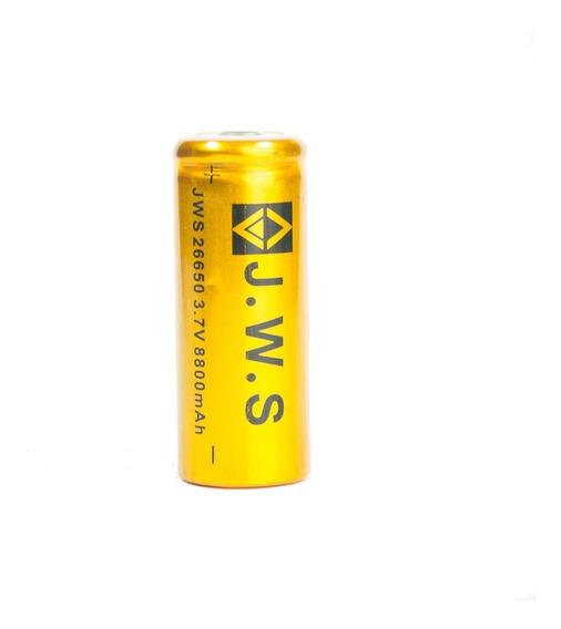 Bateria Recarregável J.w.s 26650 - 3,7v 8800 Mah - Unitária