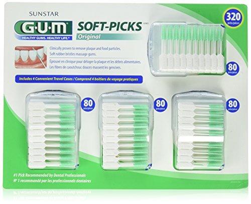 Imagen 1 de 4 de Gum Soft-picks Original 320 Count