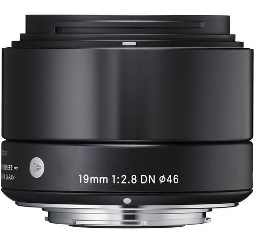 Lente Art Sigma 19mm F/2.8 Dn Para Sony E - Loja Platinum