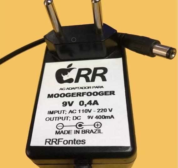 Fonte 9v Para Pedal Moog Moogerfooger Mf-101 Low Pass Filter
