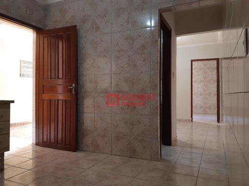 Apartamento Com 1 Dormitório Para Alugar, 55 M² Por R$ 1.100,00/mês - Cidade Jardim Cumbica - Guarulhos/sp - Ap0855
