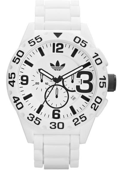 Relógio adidas Adh2860 Silicone Orig White & Black!!!