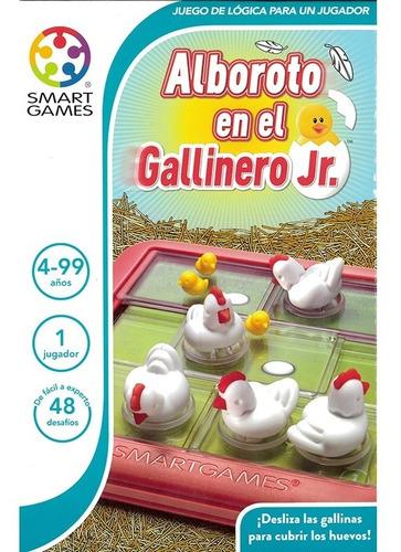 Juego De Lógica Smart Games: Alboroto En El Gallinero Jr.