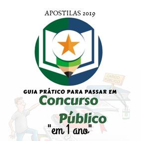 Apostila De Concursos 2019 (leia A Descrição)