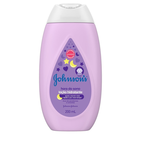 Loção Hidratante Johnsons Baby Hora Do Sono 200 Ml