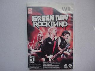 Green Day Rockband Completo Para Nintendo Wii