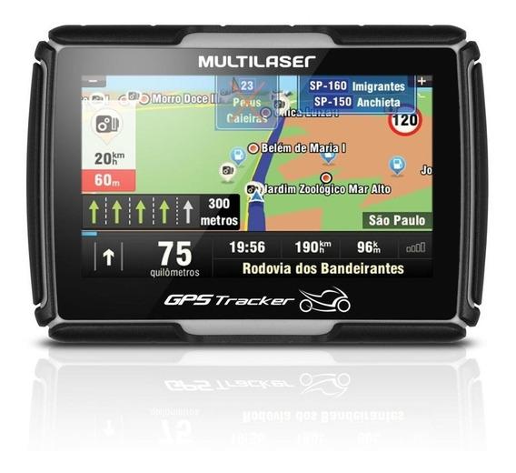 Navegador Gps Tracker Para Moto 4.3'' Gp040 - Preto