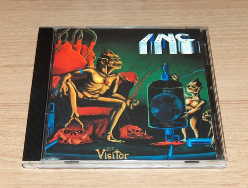 Indestructible Noise Command - The Visitor Cd Unofficial P78