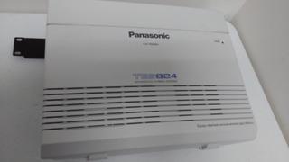 Panasonic Sistema Pbx Kx-tes824, 3 Lineas, 8 Extensiones, Bl