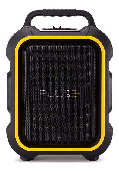 Caixa De Som Microfone Bluetooth Bt Fm Aux Sd Usb Original
