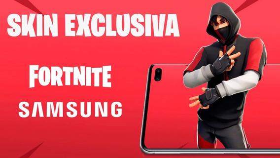 Ikonik Skin Fortnite Exclusiva Galaxy S10 Plus