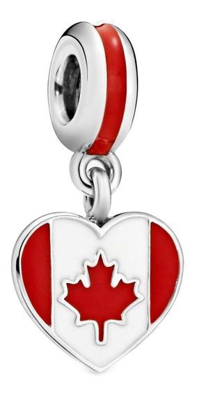 Pandora Charm Canada Bandera Amo Canada