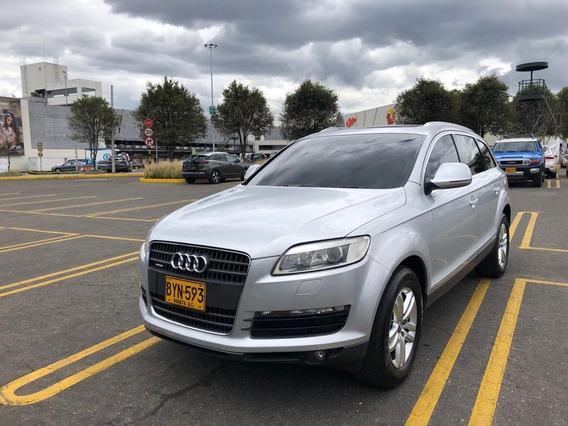 Audi Q7 92.000km 4.200cc Gris Plata. Cojineria Cuero