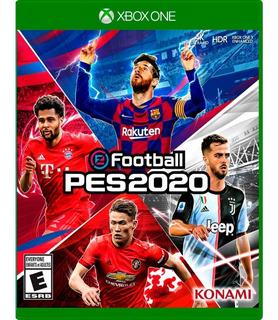 Pes 2020 - Xbox One - Juego Fisico - Megagames