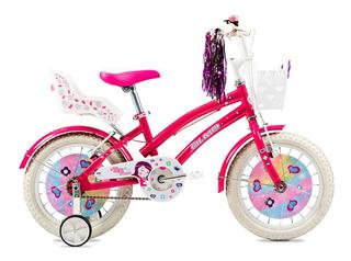 Bicicleta Nena Olmo Tiny Friends Rodado 16 Ahora 12 18