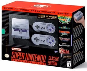 Super Nintendo Classic Edition Mini Americano Snes Original